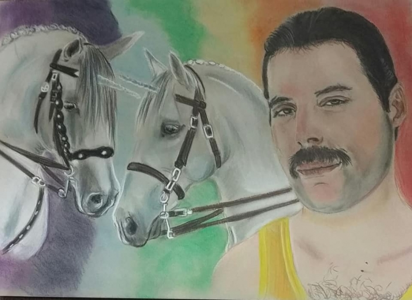 Freddie Mercury by Slogirl64